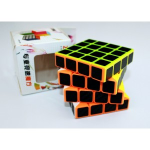 Z-Cube  - Cub 4x4x4 Profesional - Stickere fibra de Carbon