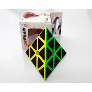 Z-Cube *  Pyraminx V1 * Cub Profesional * Stickere Fibra de Carbon