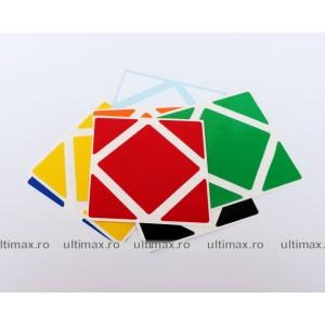 Stickere pentru cuburi Skewb