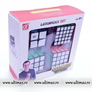 Set QiYi 2x2, 3x3, 4x4, 5x5 - Set 4 Cuburi