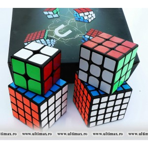 ShengShou Mr. M 2345 - Set 4 Cuburi Magnetice Seria - Mister M