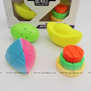 YuXin - Set 4 Cuburi  - Mastermorphix * Egg * Cake  * Ingots