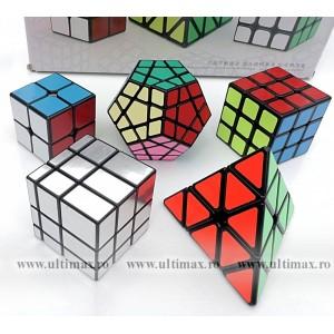 Z-Cube * SET 5 Cuburi * 2x2, 3x3, Mirror, Pyraminx, Megaminx