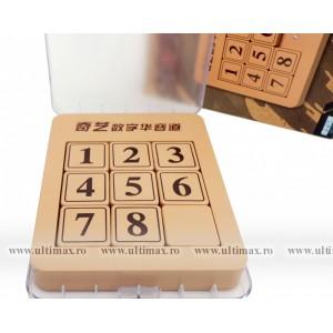 QiYi Sliding Numbers Klotski * 1-8 Puzzle * Premium DeLuxe