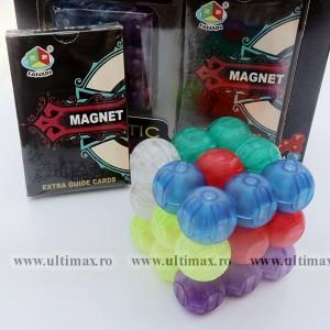 FanXin Magnetic Blocks - Set Constructie Bile Magnetice + Extra Carduri