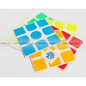 Stickere pentru cuburi GAN 3x3x3
